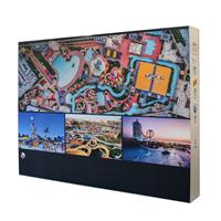 4x3 Pop-Up SEG Lightbox, 2-Sided, w/Lights&Profiles