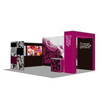Pop-Up SEG Lightbox Custom Booth