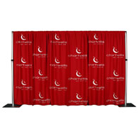 10'x8' MultiVision™ Backdrop 1 Color Silk Screen