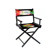 """Regular(17""""H)Director Chair w/Printed Canvas, 1-Sided"""