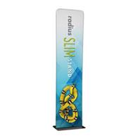 2' Radius Slim Stand™ w/Graphic, 1-Sided