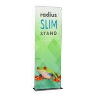 3' Radius Slim Stand™ w/Graphic, 1-Sided
