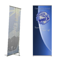 Large Econo-L Banner Stand