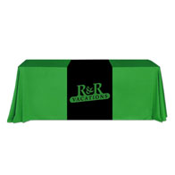 """24""""x66""""Table Runner w/1 Color XPress Scan"""